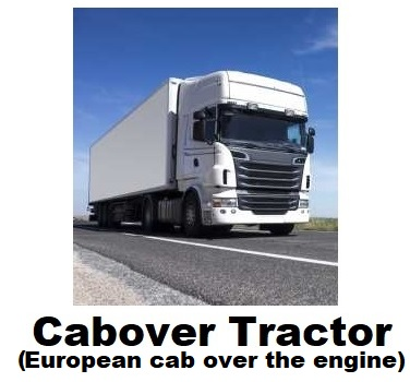Cabover Tractor