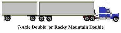 Rocky Mountain Double (7 axles)