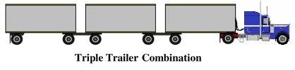 Triple Trailer (7 axles)